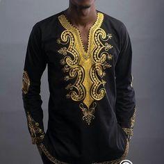 3011074b8a53 Freies verschiffen 2017 Afrikanische dashiki Afrikanischen nationalen stil  druck V-ausschnitt langarm T-shirt