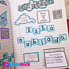 FlapJack Educational Resources: 5 for Friday - Interactive Notebook Fun! Learn Spanish Free, Spanish Lessons For Kids, Spanish Lesson Plans, Spanish Activities, French Lessons, Spanish Interactive Notebook, Interactive Student Notebooks, Elementary Spanish, Spanish Classroom