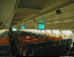 Air New Zealand Boeing 767-300 Economy Cabin 2006. Image via google airliners.net copyright owner