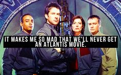 Less mad and more sad, it would have been wonderful to have a movie that felt less rushed and patched together than the Atlantis series finale