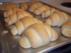 Homemade Flaky Crescent Rolls from The Daily Smash