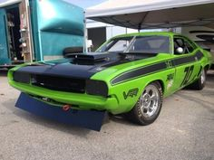 "'70 Dodge Challenger Road Racer ... ""in the style and colors of the Sam Posey driven Trans-Am racers."""