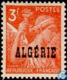 Algeria - Iris 1945