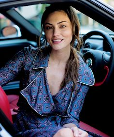and he smiles | Phoebe Tonkin named the face of the Alfa Romeo...