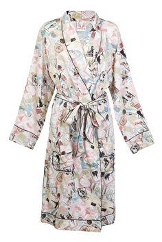 Paris Bound Robe