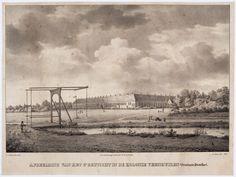 Afbeelding van het 3e Gesticht in de Kolonie Veenhuizen (Provincie Drenthe).