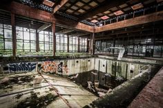Abandoned Swimming Pool by Mike Kolesnikov