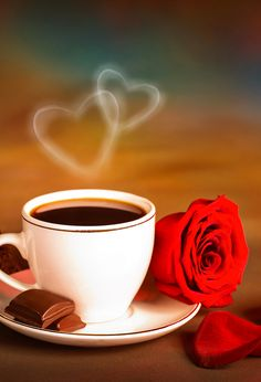 Good Morning Nature, Good Morning Flowers, Good Morning Coffee, Good Morning Photos, Good Morning Good Night, Joe Coffee, Coffee Love, Coffee Cups, Tea Cups