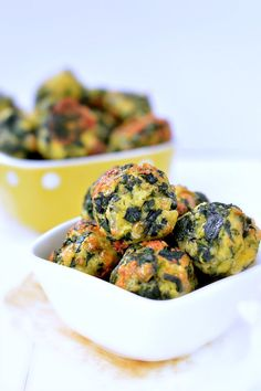 Spinach balls - Healthy appetizers