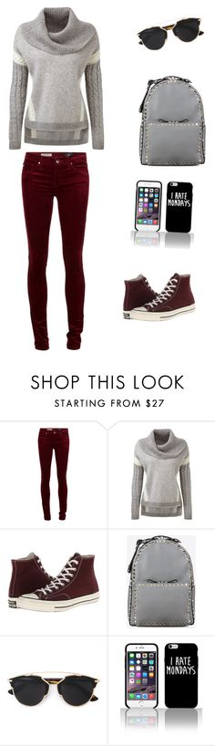 """""""Untitled #225"""" by liakdn ❤ liked on Polyvore featuring Converse, Valentino, Christian Dior, women's clothing, women's fashion, women, female, woman, misses and juniors"""