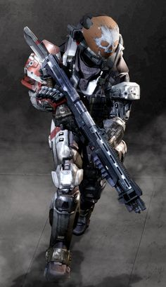 One of the bad-ass member of Noble Team, a skull-carved helmet and a kukri, I actually used his armor permutations alot more on Halo Reach with the one . Halo Game, Halo 3, Halo Reach Emile, Halo Cosplay, Anime Cosplay, Skyrim Cosplay, Space Warriors, Halo Spartan, Halo Armor