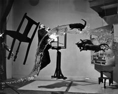 Be crazy!   Be weird!   Have fun!   Dali by Philippe Halsman.