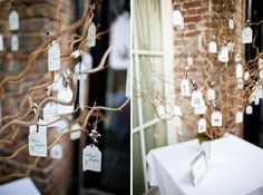 Wishing Tree/Table Plan