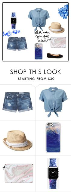 """Casetify III"" by thefashion007 ❤ liked on Polyvore featuring AG Adriano Goldschmied, Miss Selfridge, Gap, Casetify and vintage"
