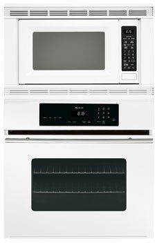 "Jenn-Air JMW8330DAW 30"" Microwave/Wall Oven Combo with CustomClean Self Cleaning Feature and Electronic Controls: White"