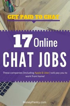 Work from home online chat jobs you don't want to miss!