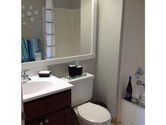 Large bathrooms with soaking tubs. Detroit City Apartments, luxury apartment living in the Central Business District of Detroit.