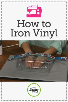 Sewing Techniques Couture How to Iron Vinyl - Learn how to iron vinyl, both flat and finished projects, without melting it. Aurora Sisneros shares expert tips. Sewing Tools, Sewing Hacks, Sewing Tutorials, Sewing Crafts, Sewing Basics, Sewing Ideas, Diy Crafts, Techniques Couture, Sewing Techniques