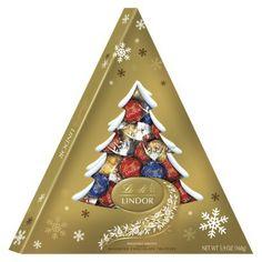 Lindt Lindor Assorted Chocolate Truffles Tree Box 5.9 oz