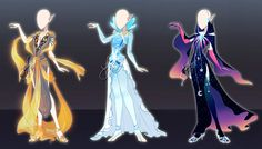 (Open) Outfit design adoptables - Auction 22 by fantazyme on DeviantArt