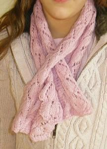 [Knit] The scarf lace effect - Shop Knitting and Creative Leisure Lace Scarf, Cowl Scarf, Scarf Design, Neck Scarves, Crochet Scarves, Neck Warmer, Free Pattern, Knitting, Boutique