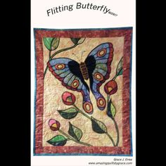 Butterfly Pattern | Flitting Butterfly Quilt Pattern
