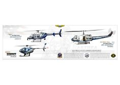 San Diego Sheriff County Helicopters