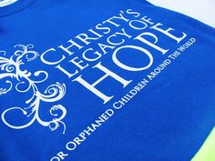 Light Up Social Media with Blue Day is May 6th.  Wear your Christy's Legacy of Hope shirt, take a pic and post on all social media.  Need a shirt?  Contact me at christyslegacyofhope@live.com.  Shirts are $5 from now until May 1st!