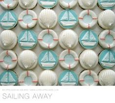 Sailing Away cupcake collection by cuppacakes