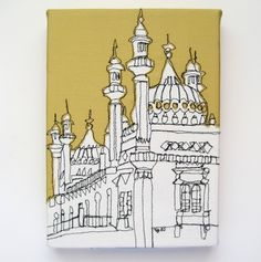 Brighton Pavilion Embroidery