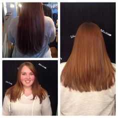 Long layer cut I created on my beautiful client! We took 6inches off!!