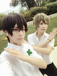 Terror in Resonance - Tama and Ataito(小蛋☆小提) Nine/Arata Kokonoe, Twelve/Toji Hisami Cosplay Photo - Cure WorldCosplay