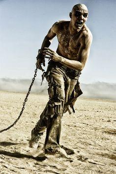 Nicholas Hoult as Nux  --  Mad Max: Fury Road 2015