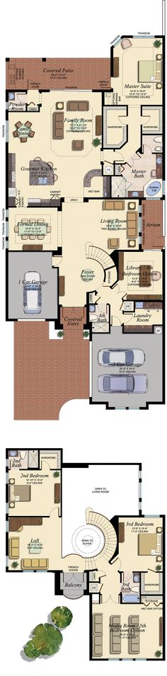 Like the first floor except the laundry room