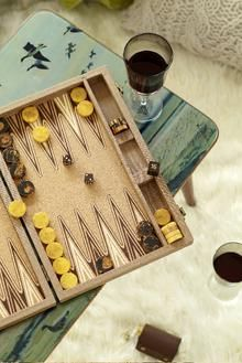 I'm going to get myself a new backgammon set.