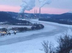 Ohio River Jan 2014