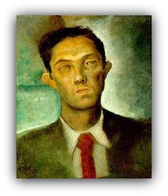 Candido Portinari - Retrato de Paulo Rossi Osir,1935  Paulo Cláudio Rossi Osir (São Paulo, 1890 — São Paulo,1959) foi um pintor, desenhista, arquiteto e industrial brasileiro que teve grande importância no desenvolvimento da pintura moderna em São Paulo.  http://sergiozeiger.tumblr.com/post/96474645653/paulo-claudio-rossi-osir-sao-paulo-1890-sao
