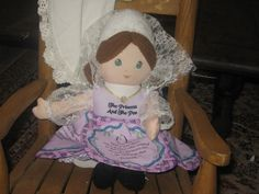 The Princess and the  Pea   soft story doll by Daysgonebytreasures, $24.00