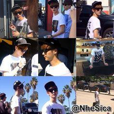 Twitter / NheSica: 140503 EXO-M at L.A. Compilation : Luhan