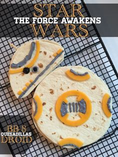 Star Wars Party: BB8 snack!