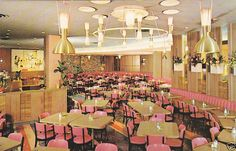 Clifton's Cafeteria - Interior, West Covina, California, 1968 by A Box of Pictures, via Flickr