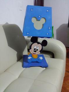 Diaz Useche Artesanos: Lampara Mickey Bebe