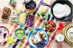 Cinco de Mayo party: Taco Bar ideas