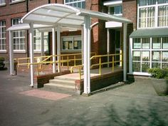 Rowentree Double Entrance Canopy, you can see more at our website, why not visit and get a free quote today. Best Commercials, Canopies, Gazebo, Entrance, Outdoor Structures, Quote, Website, Street, Outdoor Decor