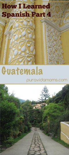 Another in the series of how I inadvertently learned Spanish.  This time, I recount how I fell in love with Central America on a trip to Guatemala.  Artículo bilingüe.