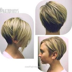 Great 15 Must-See Straight Hairstyles for Short Hair: #9. Short Haircut 2017 for Round Face  The post  15 Must-See Straight Hairstyles for Short Hair: #9. Short Haircut 2017 for Round…  appea ..