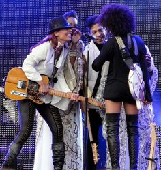 Ida Nielsen - Liv Warfield  PRINCE & Andy Allo  Real Musicians
