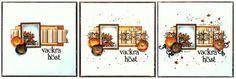 Vackra Höst Scrapbook Page by Ulrika Wandler using BoBunny Enchanted Harvest Collection. #BoBunny @hemmahosulrika