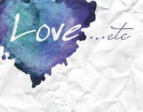 LOVE...etc by Dina Saadi, via Behance