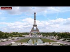 The Eiffel tower is without a doubt Paris number one landmark and one of the most famous structures in the whole world. For more info on Eiffel Towe Tour Eiffel, Paris Eiffel Tower, Paris France, France Europe, Monuments, Geography Classroom, Paris Video, Famous Structures, Gustave Eiffel
